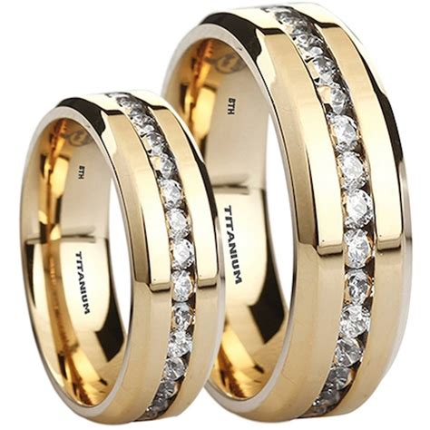 White Gold Wedding Ring Sets His And Hers Prom Dresses and Gowns Best Prom Dresses and Gowns [thepromdresses2016.us]