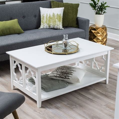 white wooden coffee table.aspx Image