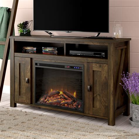 "Whittier TV Stand for TVs up to 50"" with Fireplace"