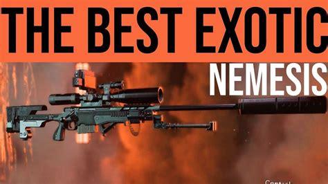Who Drops Nemesis Sniper Rifle Parts Division 2