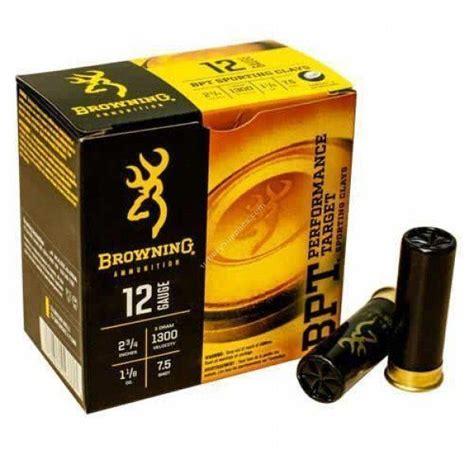Who Makes Browning Shotgun Ammo