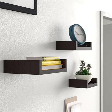 Wickes 3 Piece Floating Shelf Set