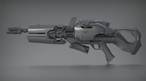Widowmaker Rifle 3d Model