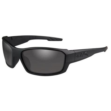 Wiley X Eyewear Rebel Shooting Glasses Smoke Gray Rebel Shooting Glasses Black