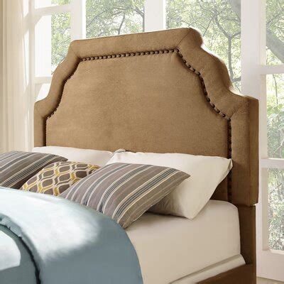 Wilfred upholstered panel headboard by bayou breeze Image