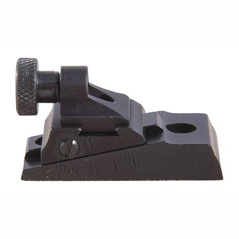 Williams Gun Sight Savage Arms 110 Wgrs Receiver Rear Sight Savage Arms 110 Adj Peep Wgrs Receiver Rear Sight Black