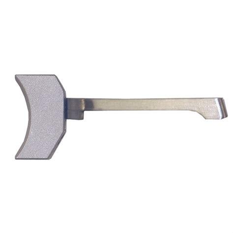 Wilson Combat 1911 Ultralight Match Trigger Solid Curved Ultralight Match Trigger Long