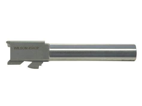 Wilson Combat Matchgrade Barrel For Glock 45 Acp Matchgrade Barrel For Glock 21