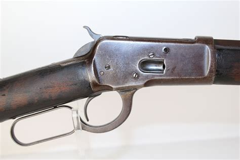 Winchester 1893 Lever Action Rifle