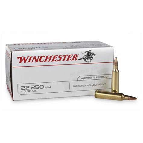 Winchester 22 250 Ammo 45 Grain Review