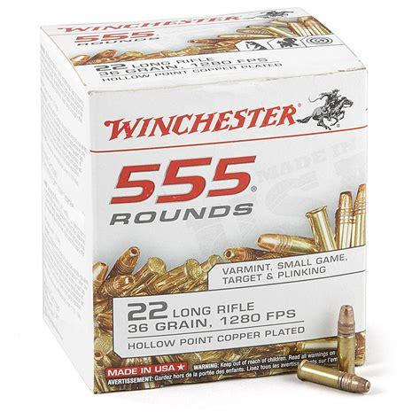 Winchester 22 Ammo 555