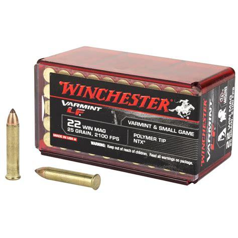 Winchester 22 Ammo Lead Free