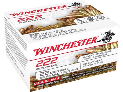 Winchester 22 Long Rifle Ammo 222