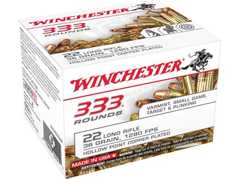 Winchester 22 Long Rifle Hollow Point Ammo And 223 Ammo Storage Boxes