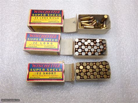 Winchester 22 Long Rifle Super Speed