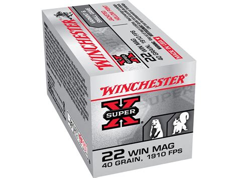 Winchester 22 Mag Ammo