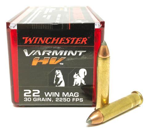 Winchester 22 Mag Hv Ammo