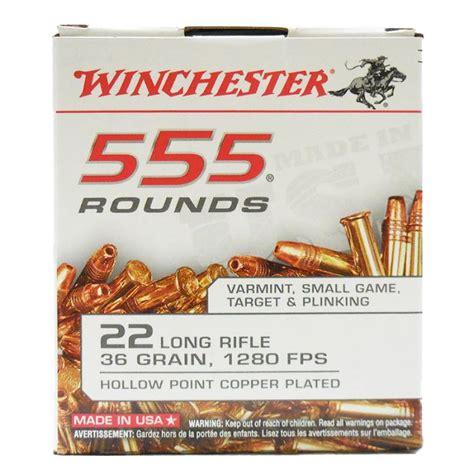 Winchester 22 Rimfire Long Rifle 36 Grain 1280 Fps