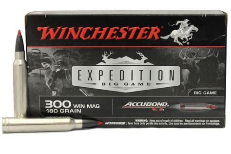 Winchester 300 Win Mag 180 Gr Accubond