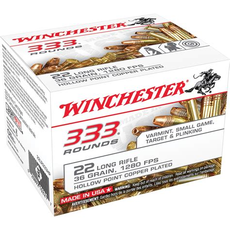 Winchester 333 22 Ammo Review