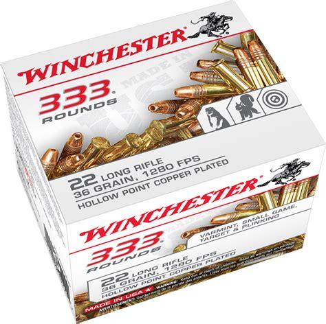 Winchester 333 22lr Ammo Price