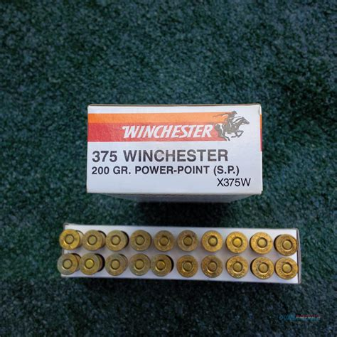 Winchester 375 Ammo For Sale