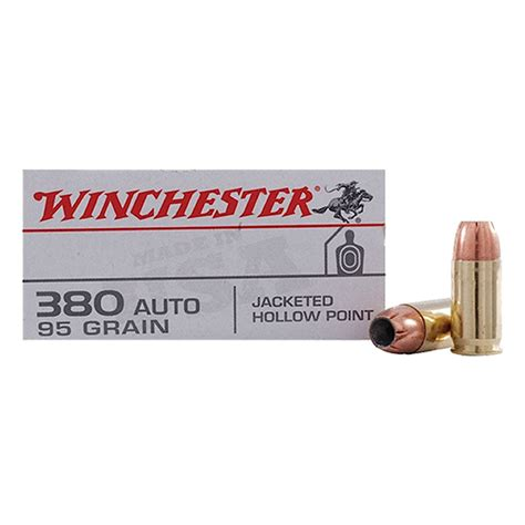 Winchester 380 Auto Ammo