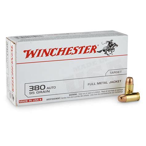 Winchester 380 Bulk Ammo