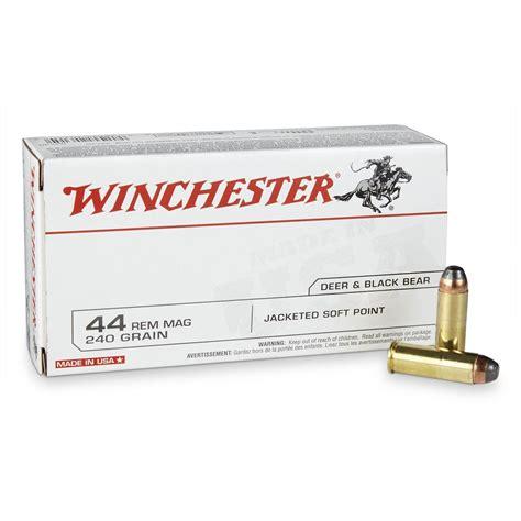 Winchester 44 Magnum Ammo Rifle Ballistics