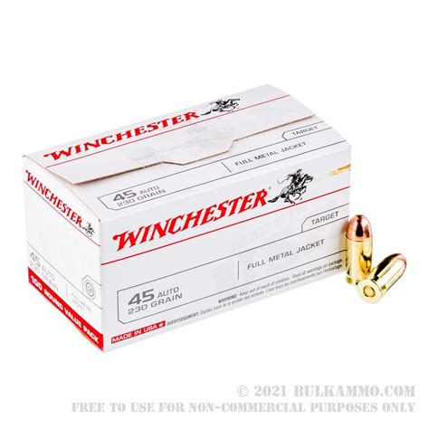 Winchester 45 Acp Ammo Value Pack