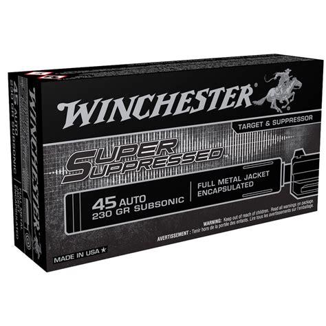 Winchester 45 Acp Or 45 Auto Cheaper Than Dirt