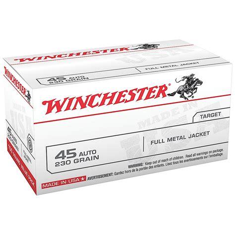 Winchester 45 Auto Fmj