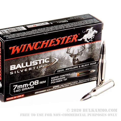 Winchester 7mm Wsm Ammo