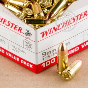 Winchester 9mm Luger Ammo 1000 Rounds