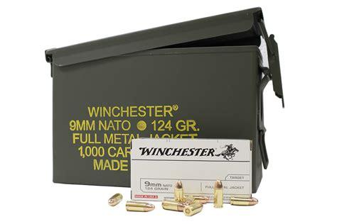 Winchester 9mm Nato 1000 Round Ammo Can