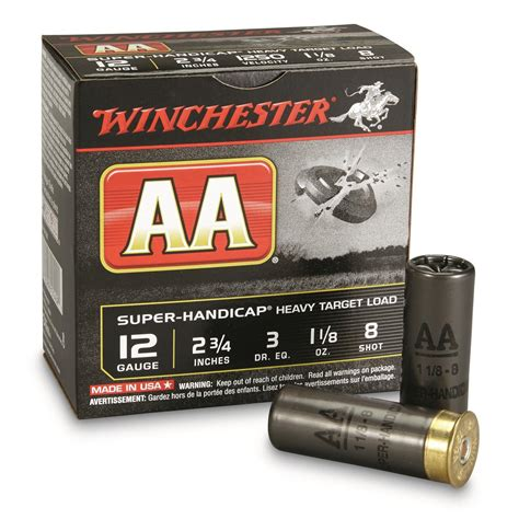 Winchester Aa 12 Gauge Shotgun Shells