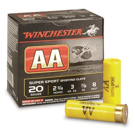 Winchester Aa 20 Gauge Shotgun Shells