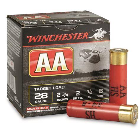 Winchester AA Shotshells 28 Gauge 2 3 4 Shell 3 4 Oz