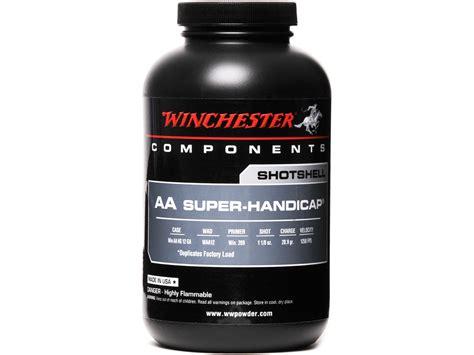 Winchester Aa Superhandicap Smokeless Gun Powder 1 Lb