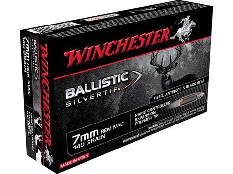 Winchester Ballistic Silvertip 7mm Rem Mag 140Gr 2 - Rifle