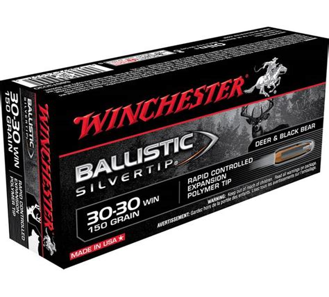 Winchester Ballistic Silvertip Centerfire Rifle Ammo