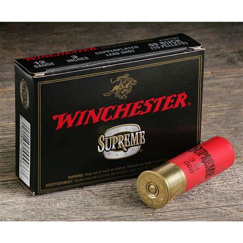 Winchester Buckshot 12 Gauge Ammo
