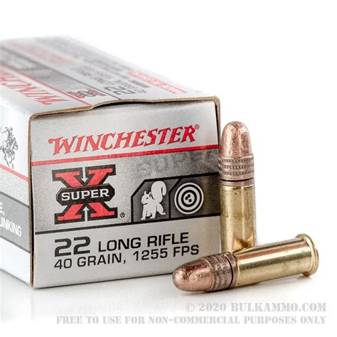 Winchester Bulk 22 Ammo Review