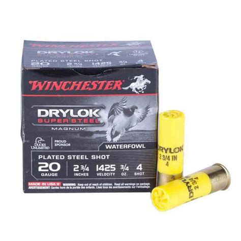 Winchester Drylok Ammo Review