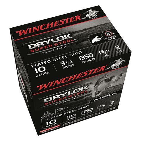 Winchester Drylok Ammo 10 Gauge 3 1 2