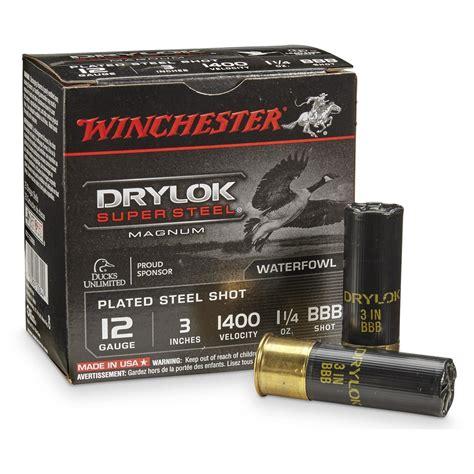 Winchester Drylok Ammo 12 Gauge 3
