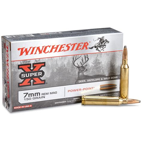 Winchester E Tip 7mm Ultra Mag Ammo For Sale And Best 410 Shotgun Ammo