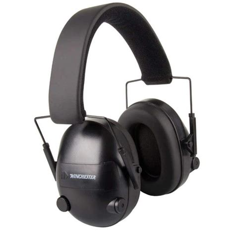 Winchester Electronic Muffs Shootingsportsacademy Co