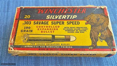Winchester Grizzly Ammo Box
