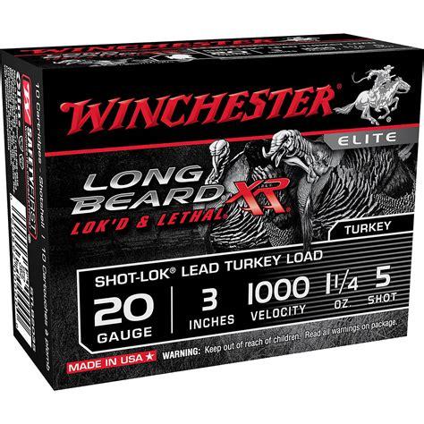 Winchester Long Beard 20 Gauge Shotgun Shells